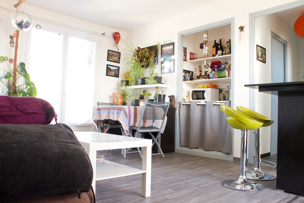 Cosy City center apt with terrace