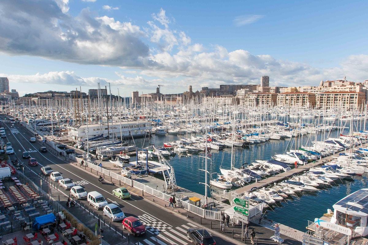 Apartment Marseille Vieux-port