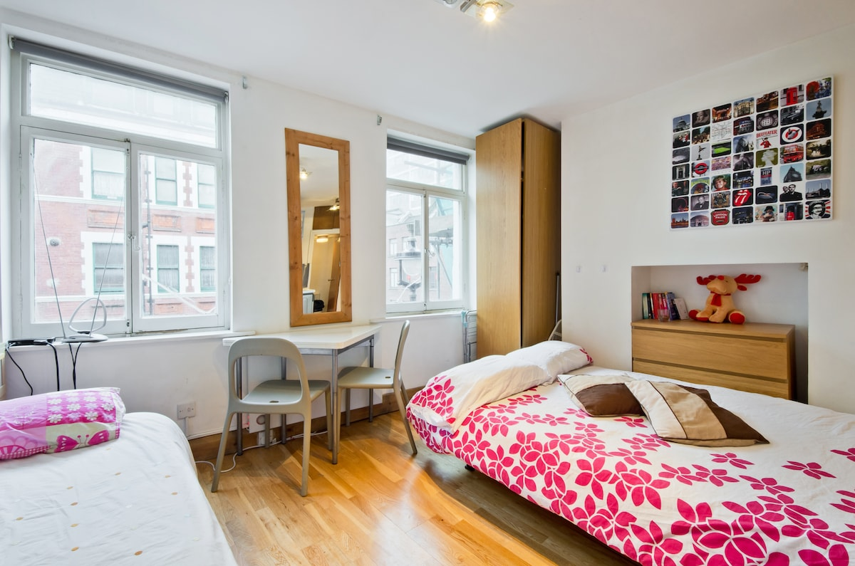 Studio Apartment in Leicester Sq