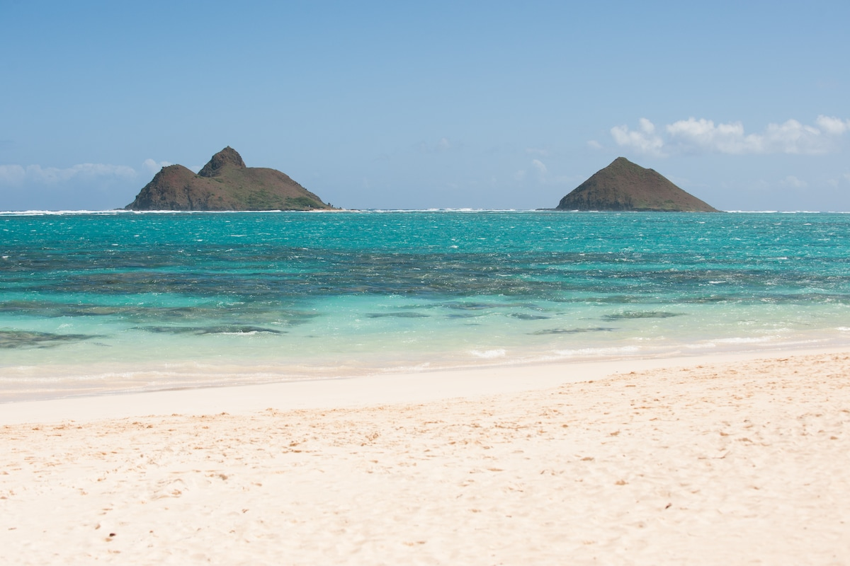 Lanikai Beach, just down the road.