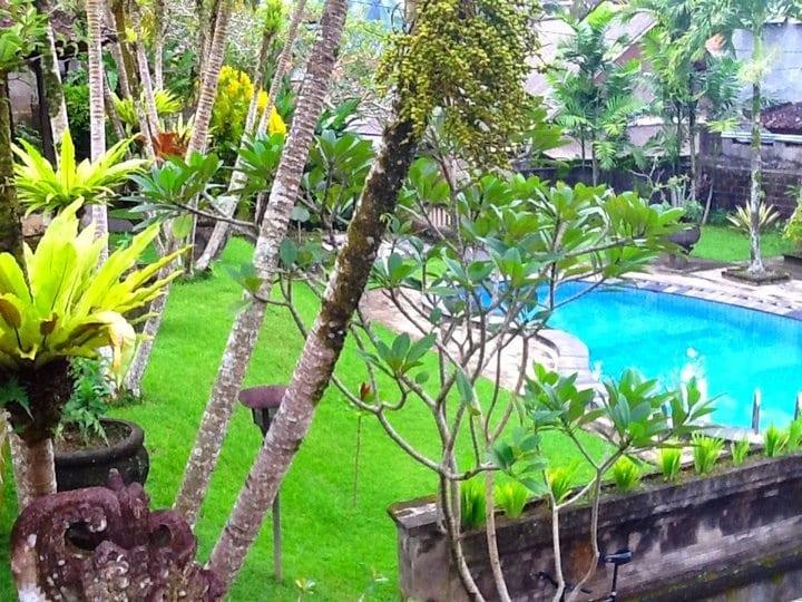 Ubud Garden Bungalow with Pool!