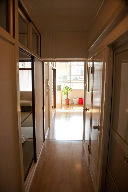 Entrance to the apartment :)