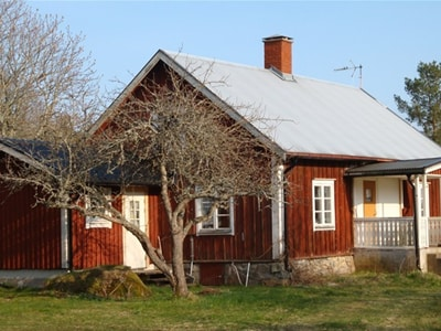 Traditional Småland by private Lake