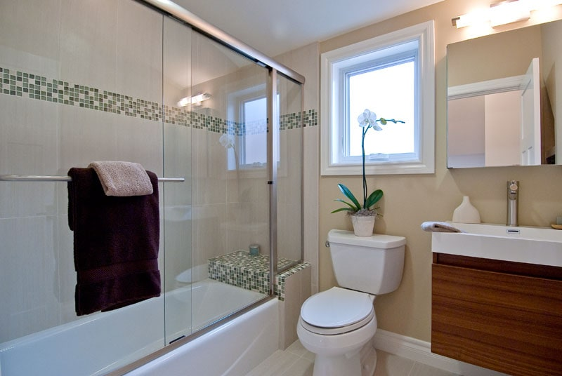 Upstairs private bathroom