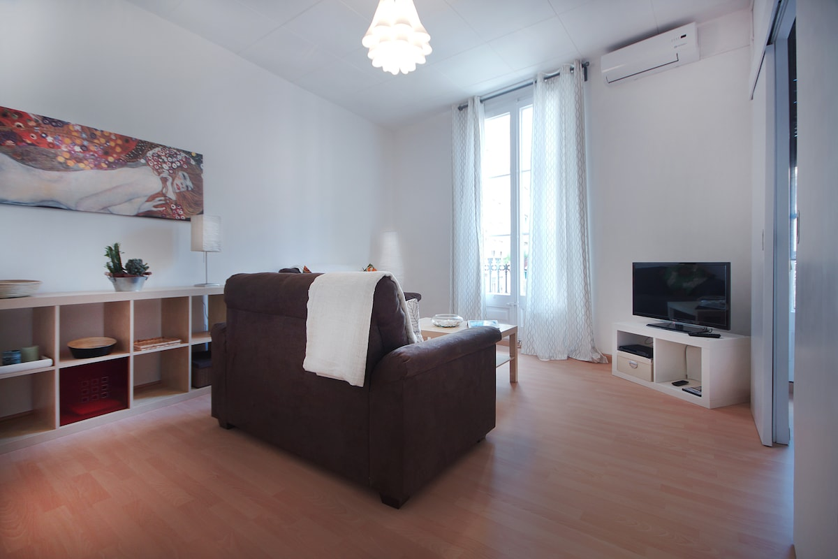 Apartment with terrace in Gracia