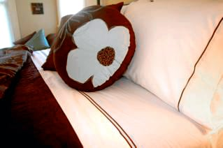 Egyptian Cotton sheets - yum!