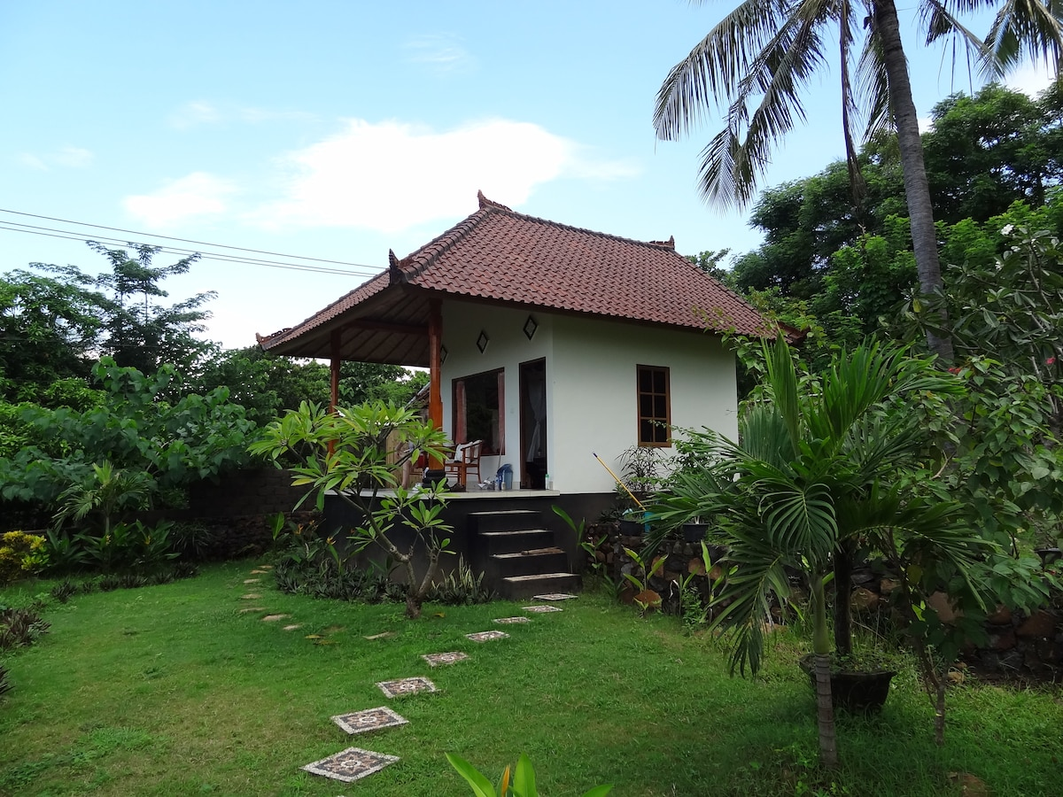 Bali Bungalow with sea view 2