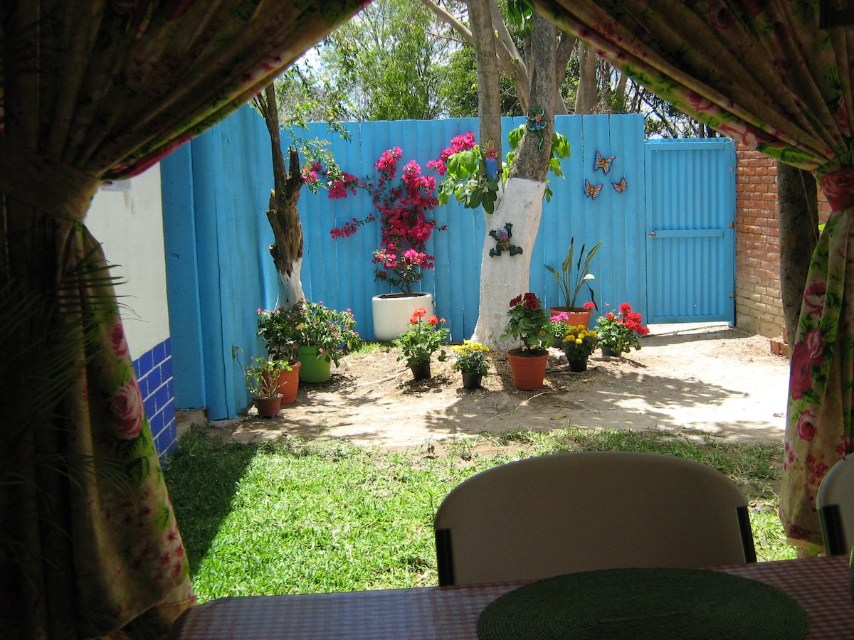 """This is the """"secret garden"""" that you ll enjoy from the dinning room."""