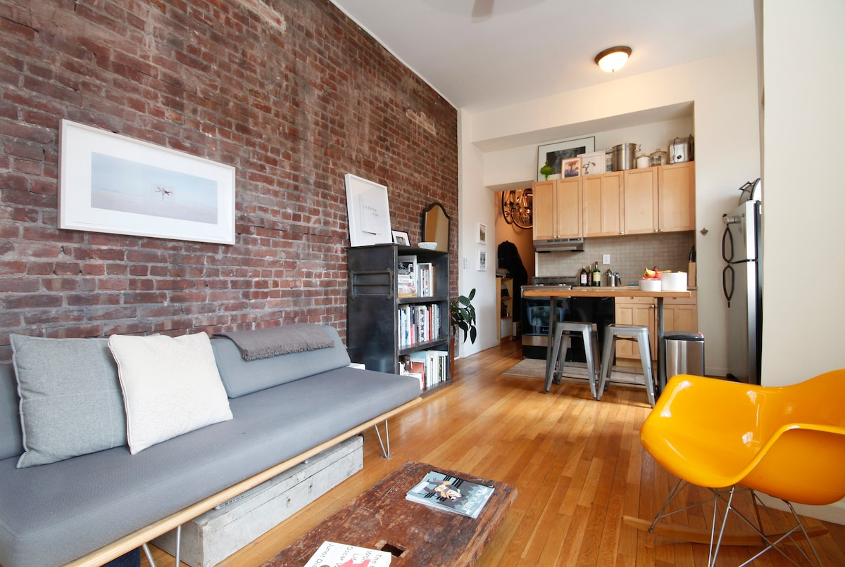 Cozy Artistic Apartment in Brooklyn