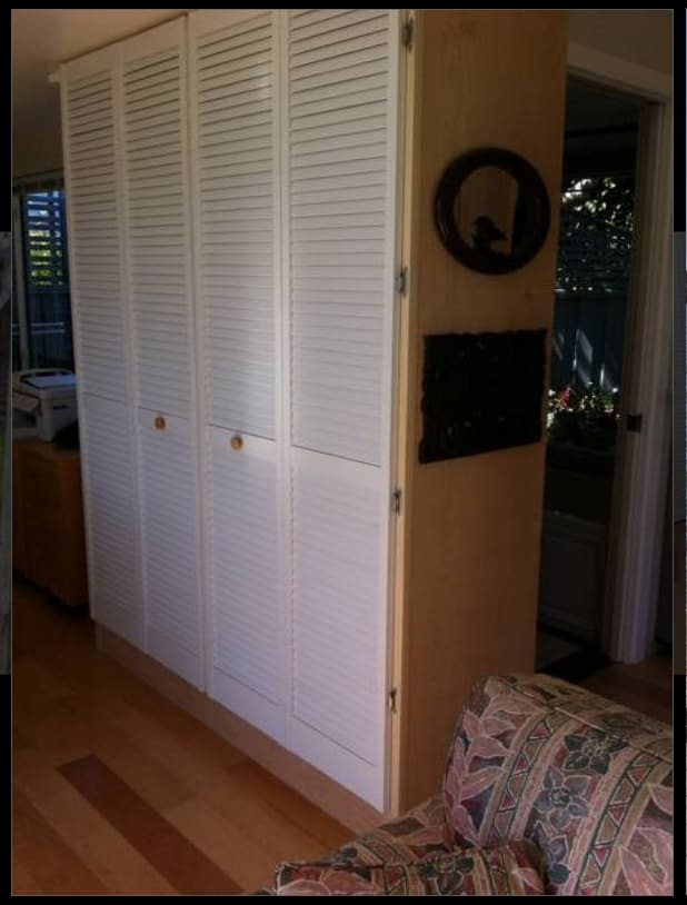 An authentic Murphy bed so comfortable you'll want to languish there