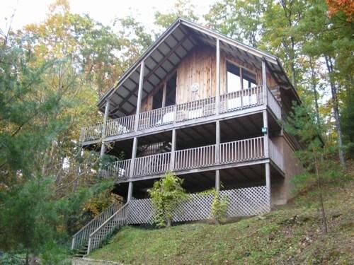 Log Cabin near Great Smoky Mountain