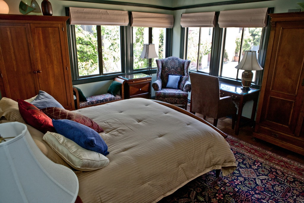 Welcome to your quiet, elegant master bedroom suite near the Castro in San Francisco...