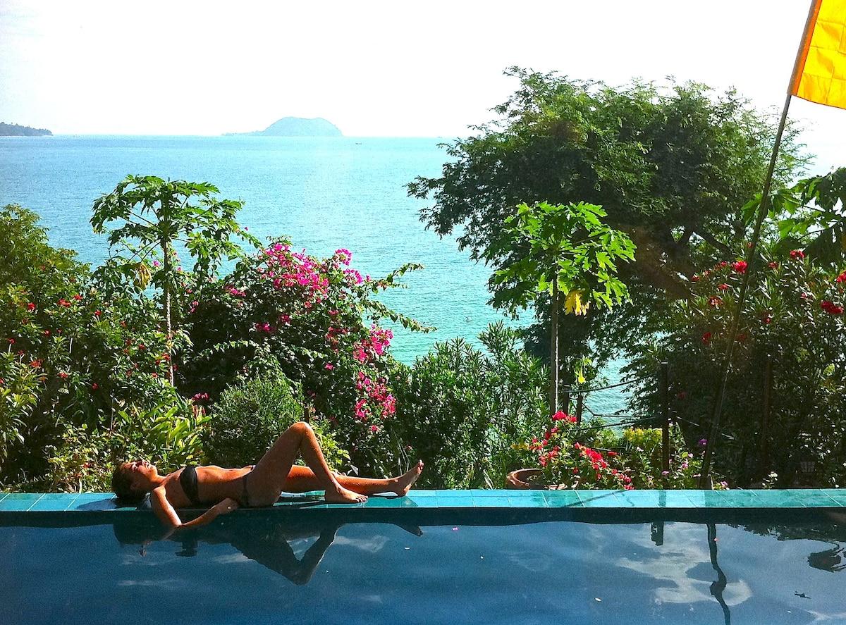Ocean Front Pool Villa, for 3-12