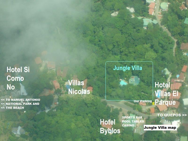 Our villa is surrounded by tropical rain forest and still close to civilization