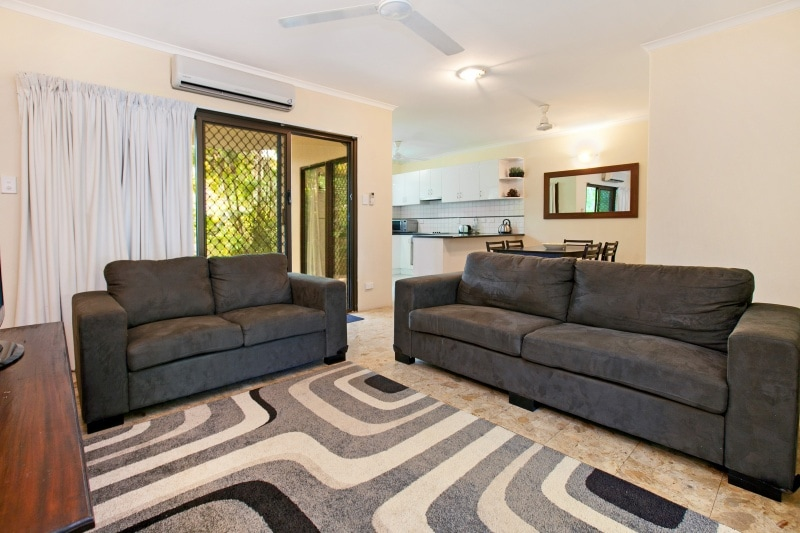 All new furnishings, super comfortable lounges plus more than 100 dvd's to chose from