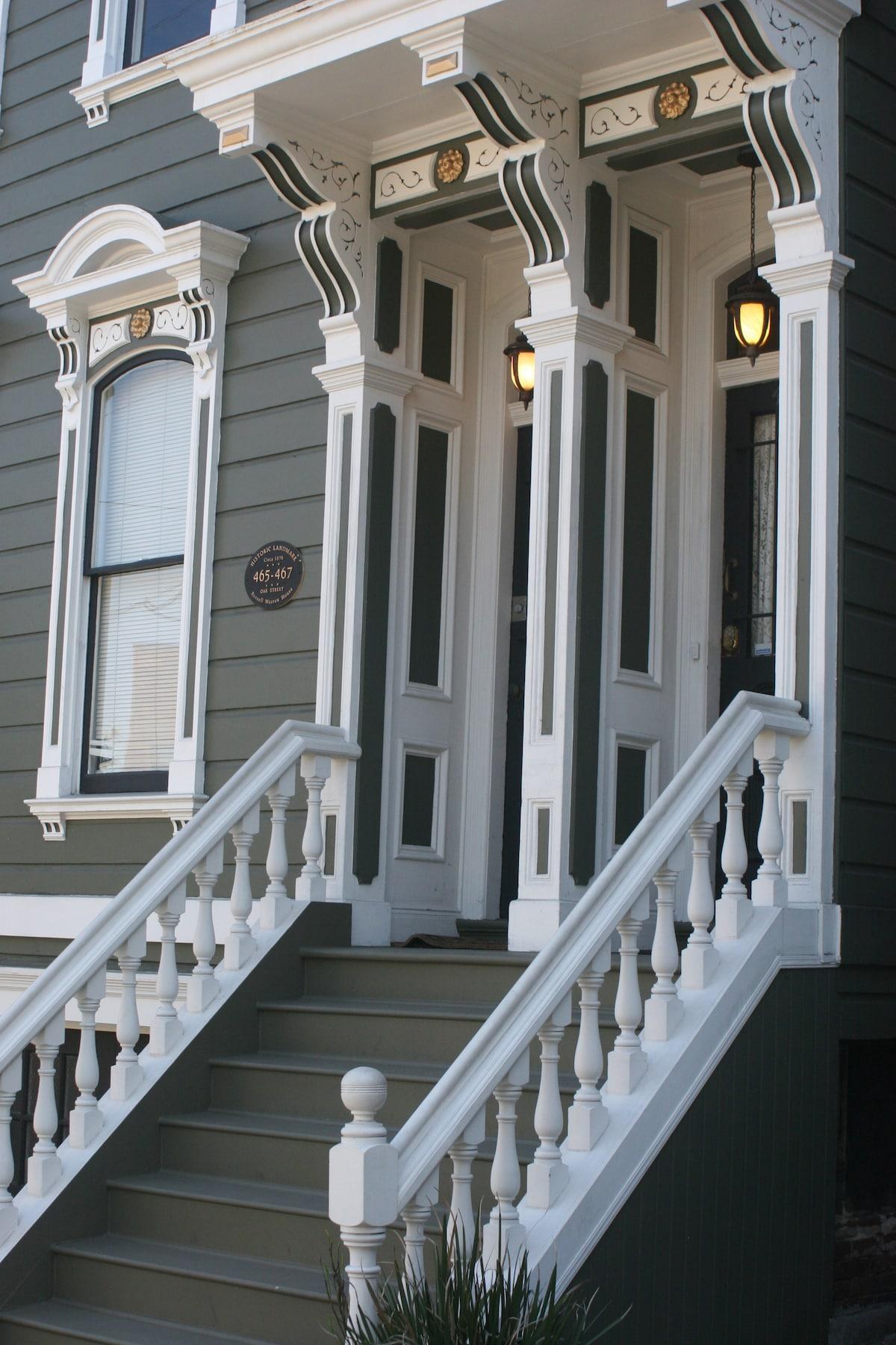 Historic in beautiful Hayes Valley neighborhood