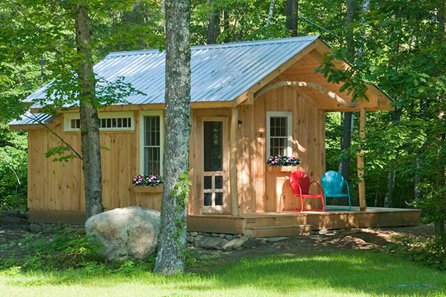 Custom cabin by the river in VT