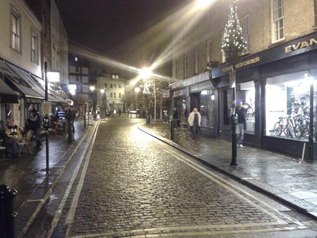Chelsea border/Fulham Broadway Slp4