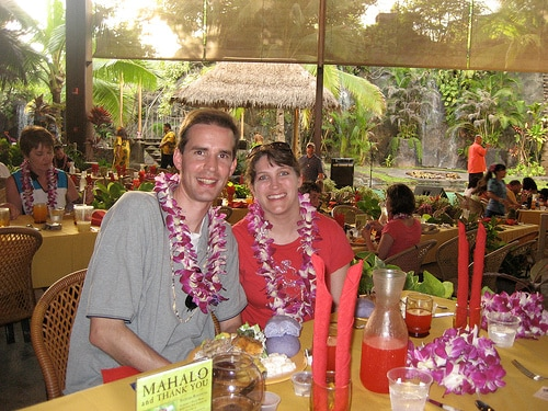 Polynesian Cultural Center - Tom and Janet Caswelle