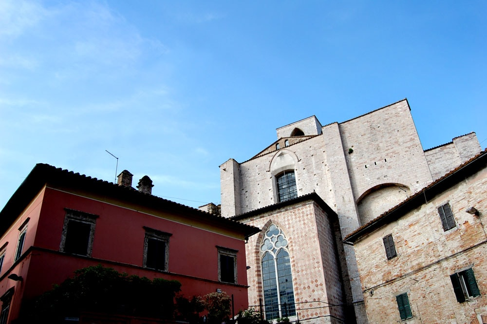 Perugia - Corso Cavour (scorcio)