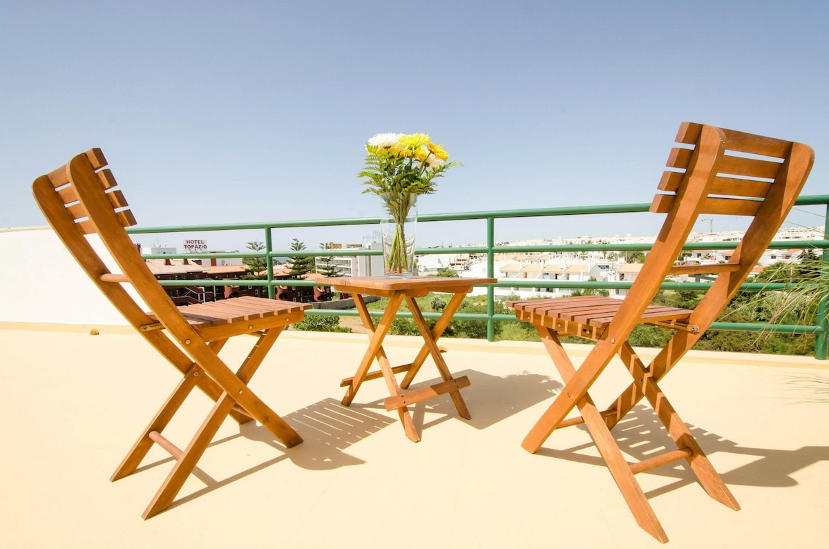 Penthouse apartment Albufeira 2bed
