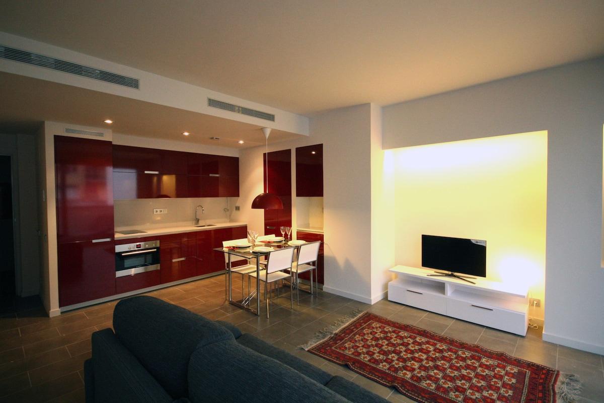 Modern & beautiful flat w/ terrace