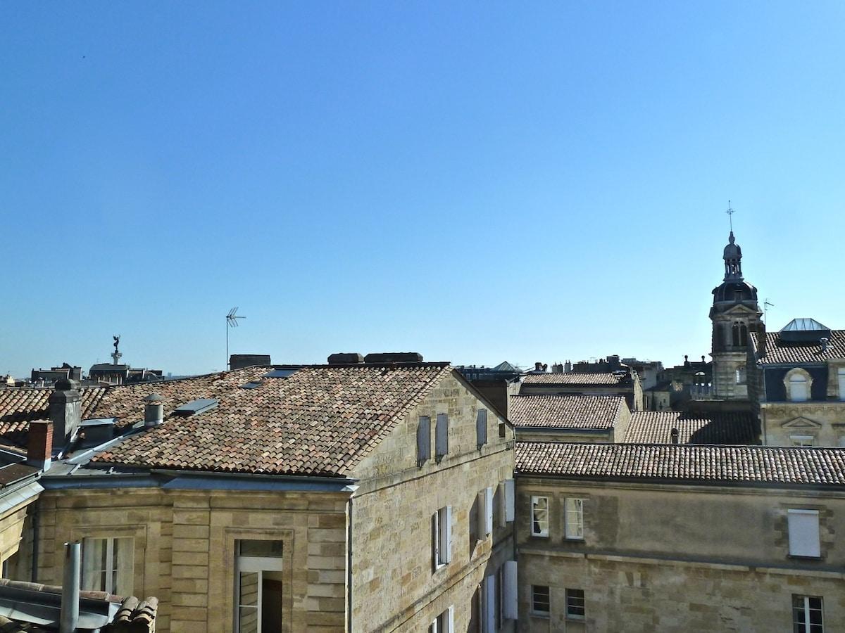 The view from the room / La vue depuis la chambre