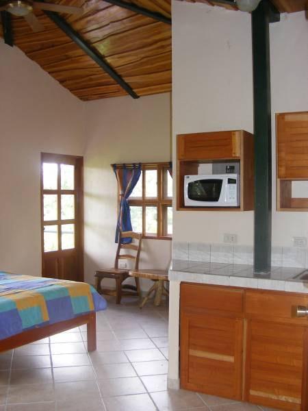 Villa 6 Kitchen and Living Area
