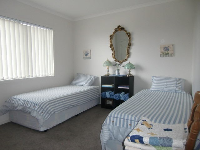 Twin Room with an assortment of quilts to kep you warm and cosy