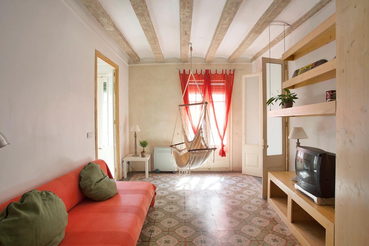 Elegant and bright apartment Bcn