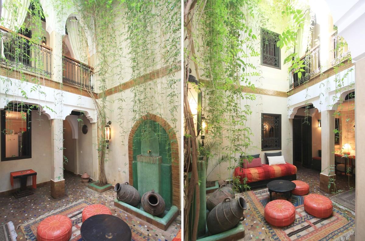 Riad  dar Kamar,, Marrakech, Airbnb