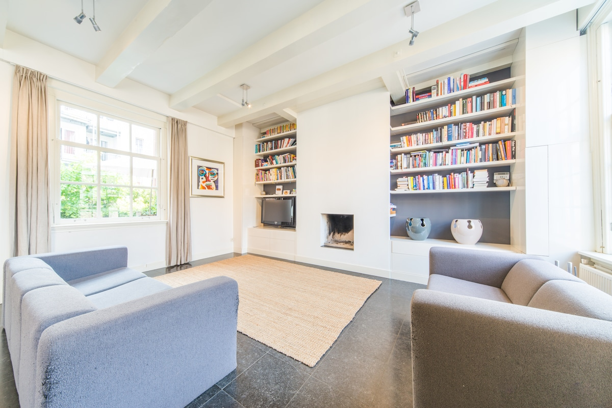 Large family home - central & quiet