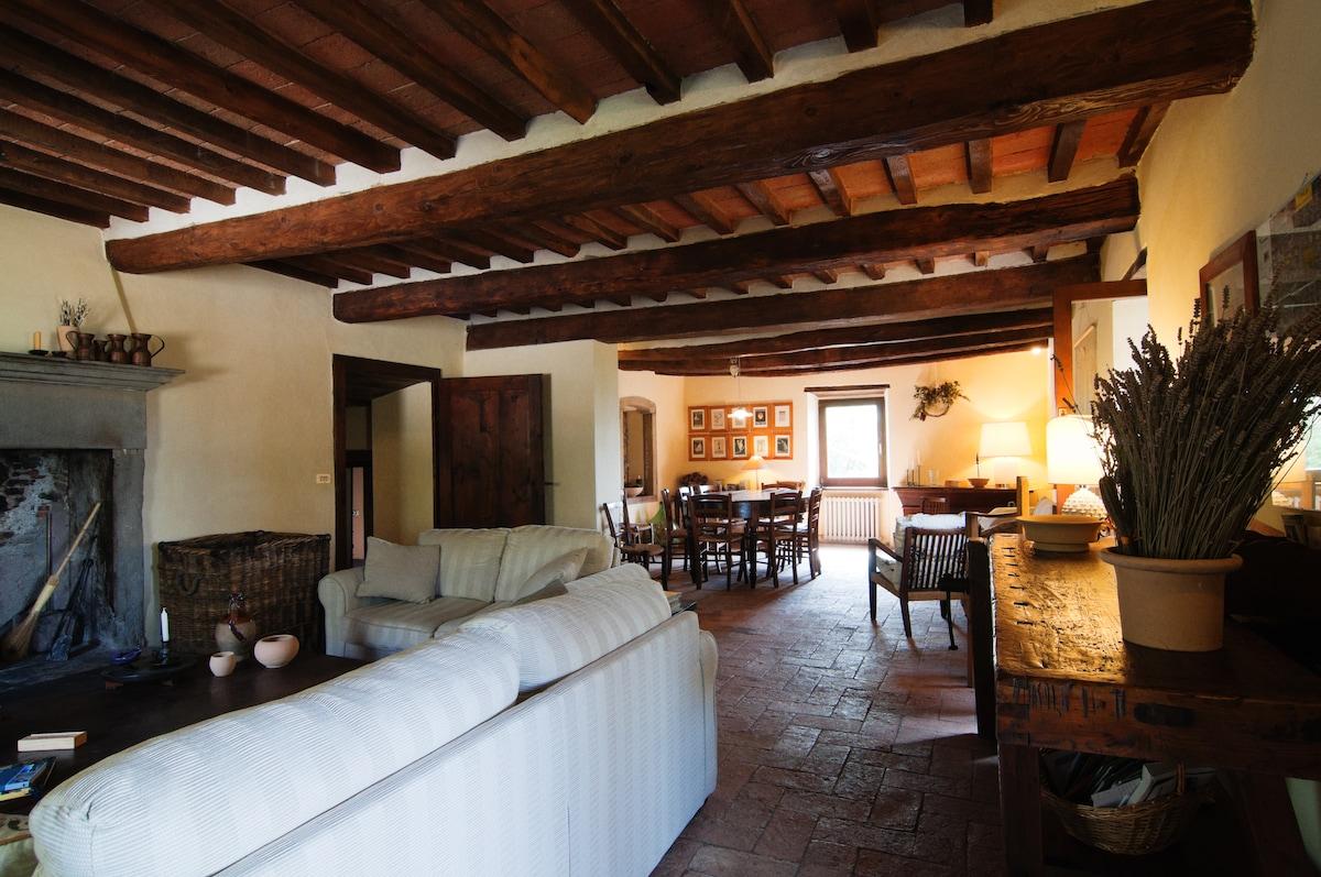 Il Poggio - Country Villa with Pool