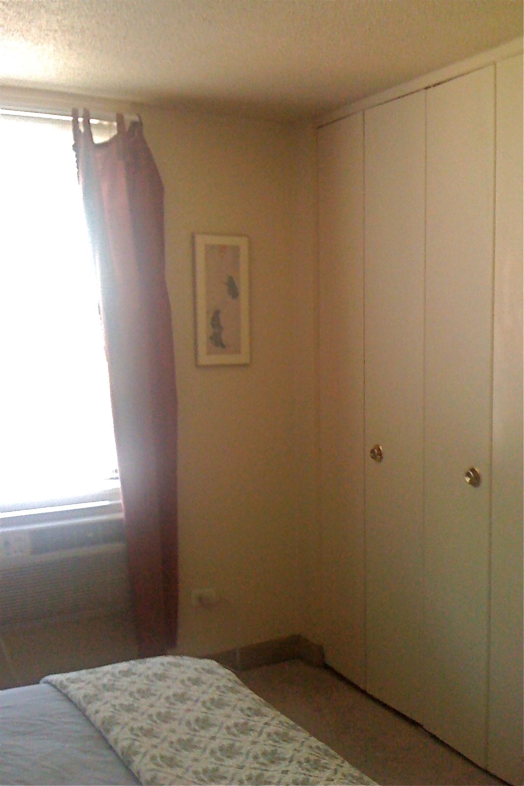 doors of a large closet