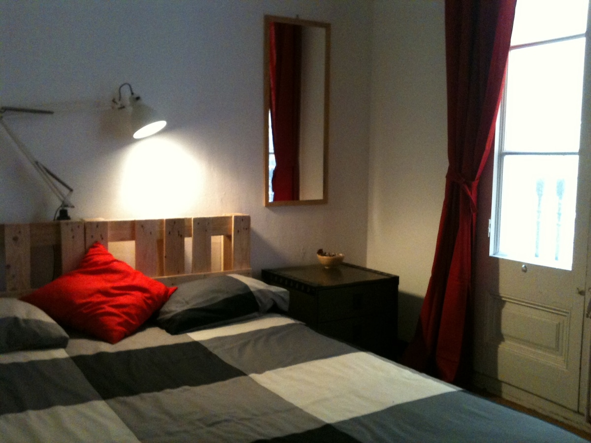 Cozy double room in centric flat
