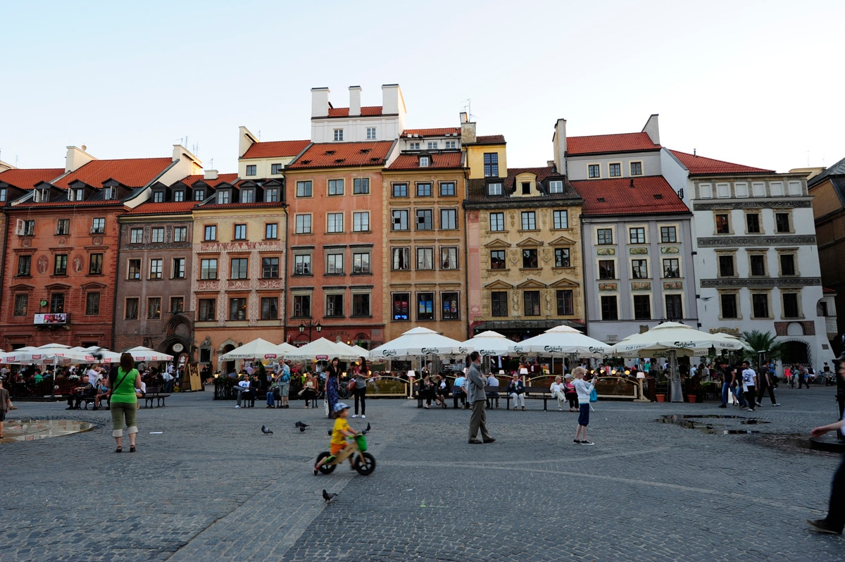 warsaw old town apartment: