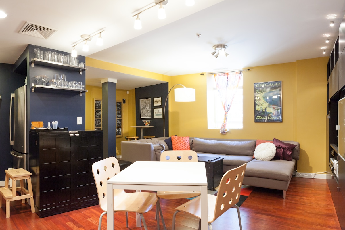 our open concept dining room