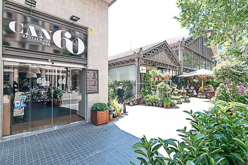 Enjoy a traditional Spanish breakfast (included) downstairs and shop in the market next door.