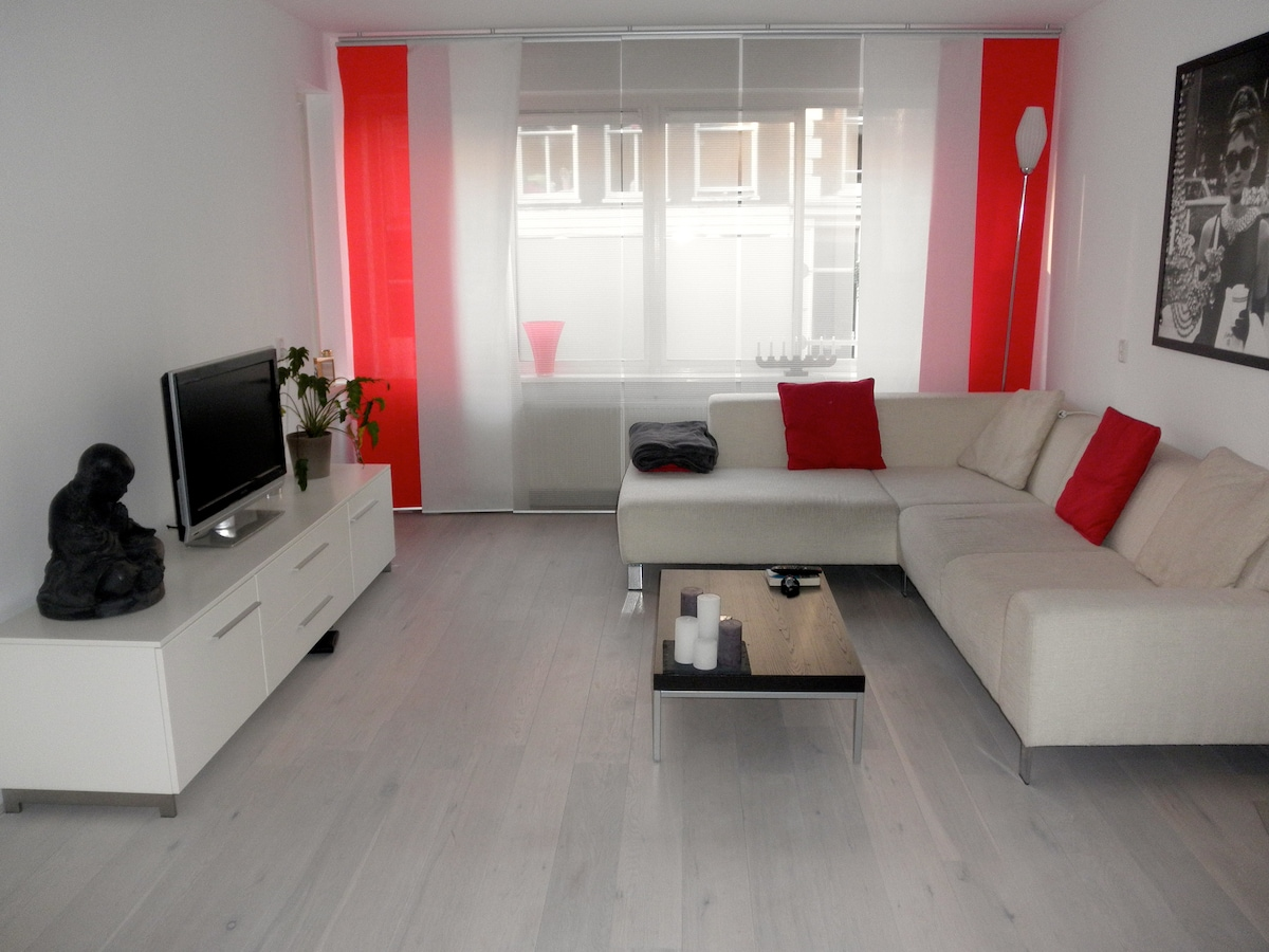 Great central apartment with garden