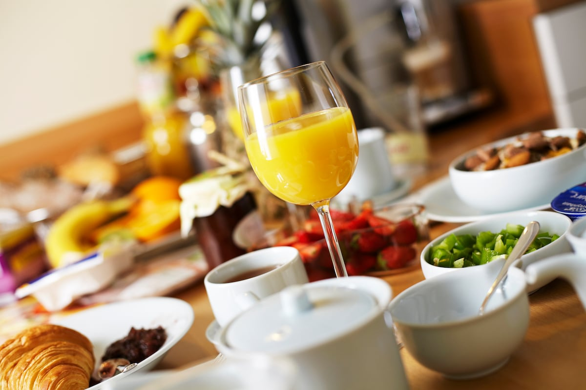 Breakfast is included. No better way to start your day!