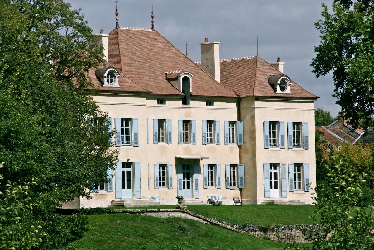 Le Château de Barbirey in Burgundy