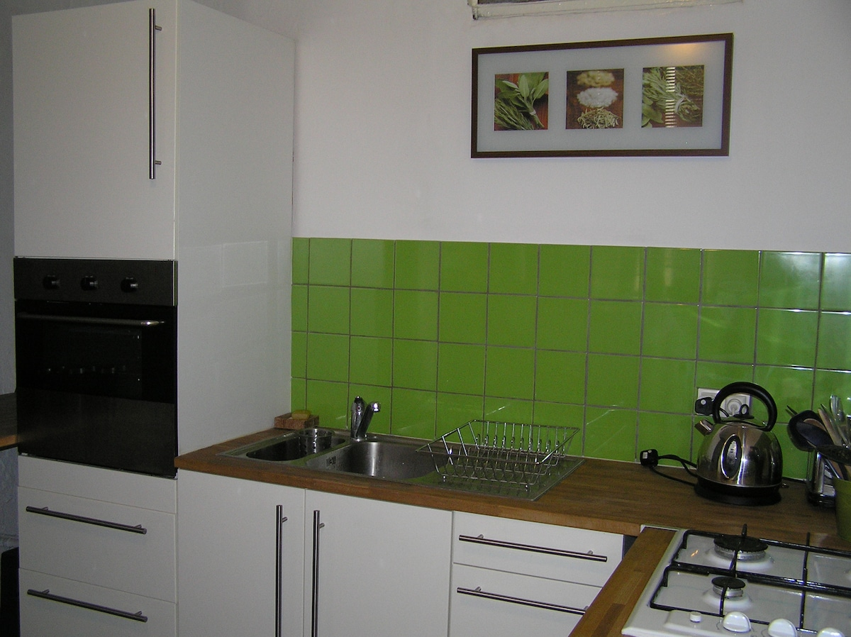 appartment for 2 in town centre