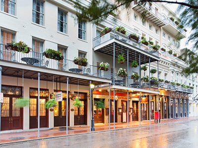 French Quarter 1br Club La Pension