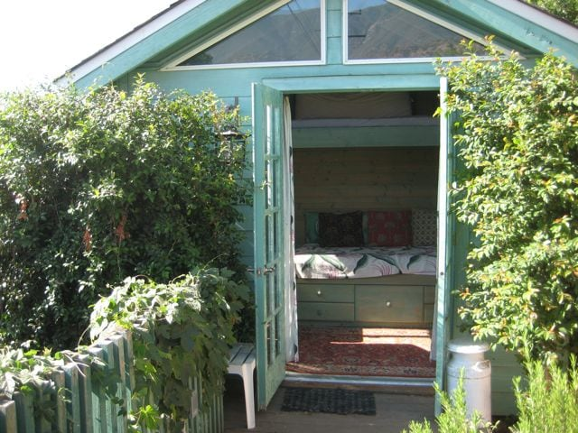 """""""Must-Love(Our)Dogs"""" Garden Room."""