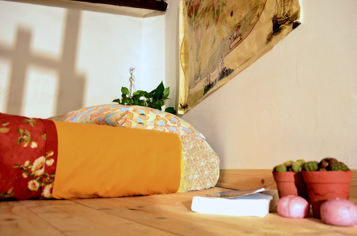 Bed | Mattress in the loft level