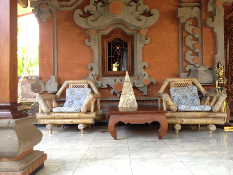 Your Private Terrace and Furniture