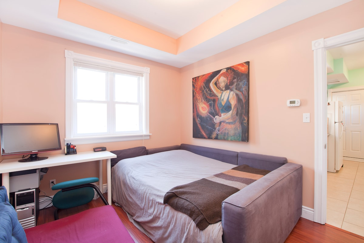 Welcome to your room in the heart of Kensington Market!