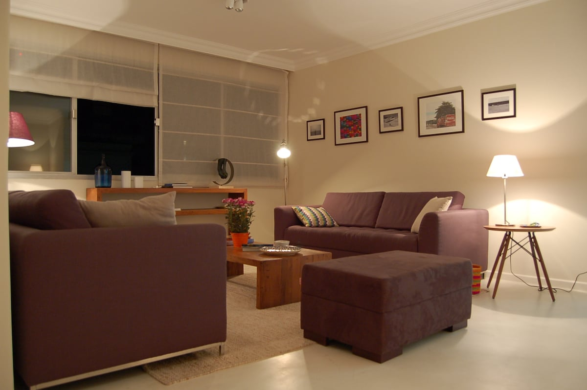 Double room in a nice apt in Itaim