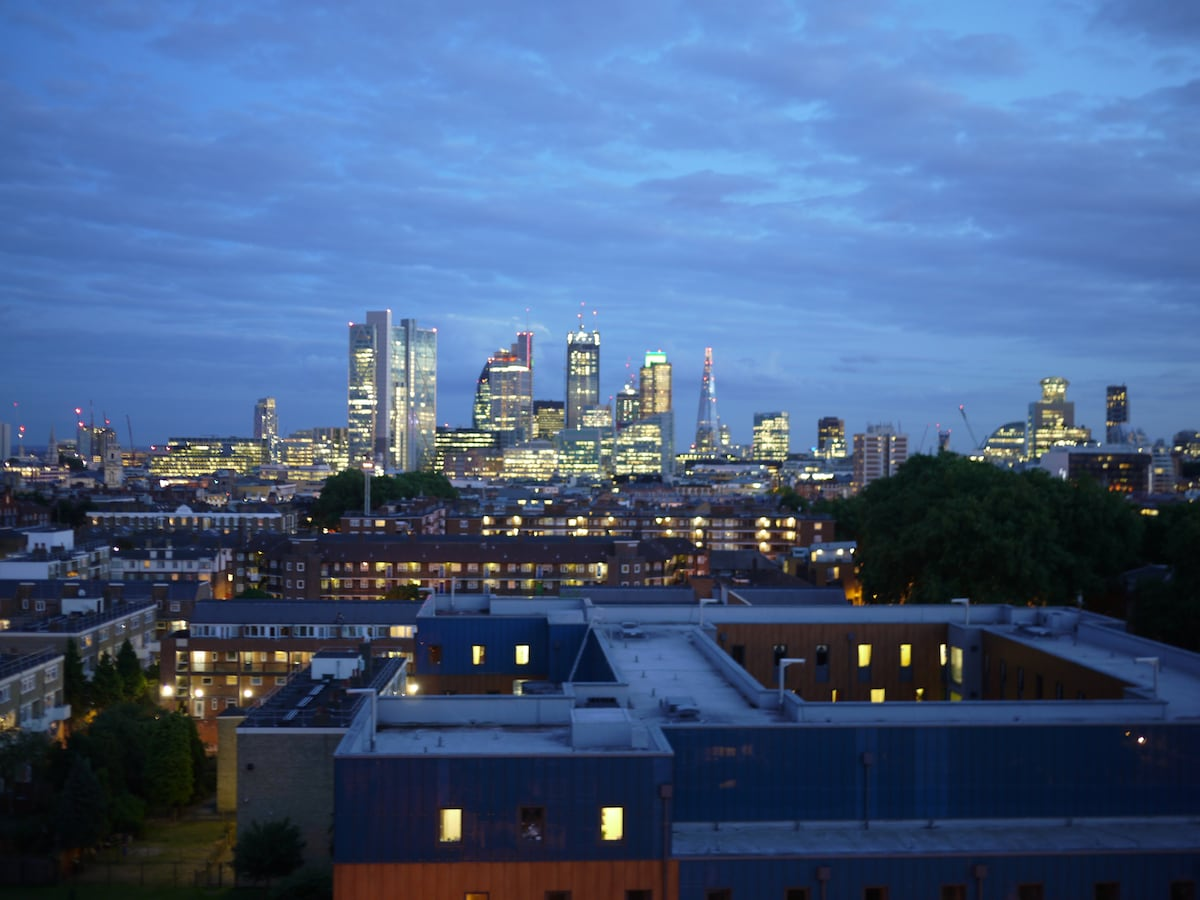 View from every room in the flat!