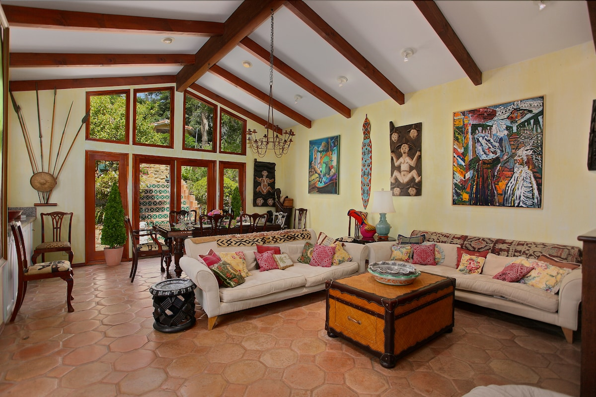 Large shared family room